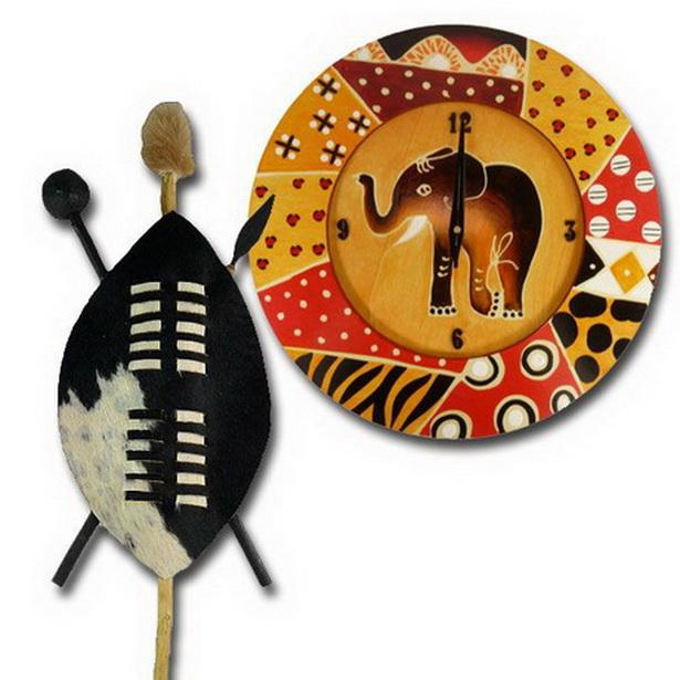 Afrikanische deko ideen - Afrika wanddeko ...