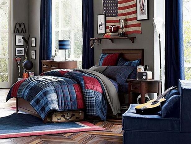 schlafzimmer amerikanischer stil dekoration inspiration