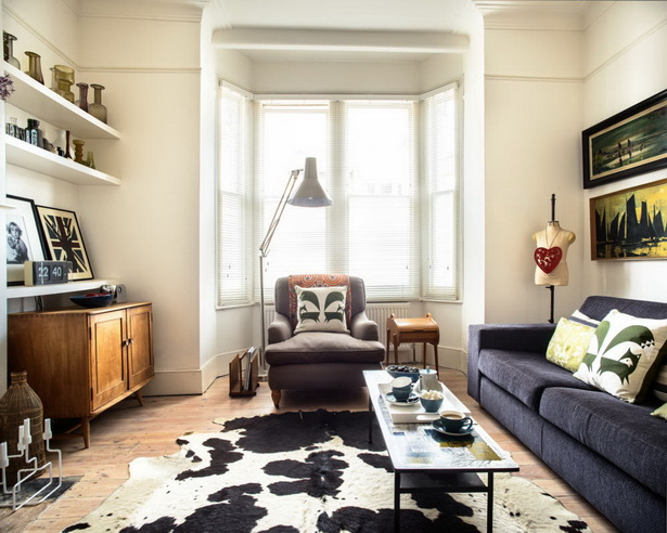Amerikanischer Landhausstil Im Wohnzimmer
