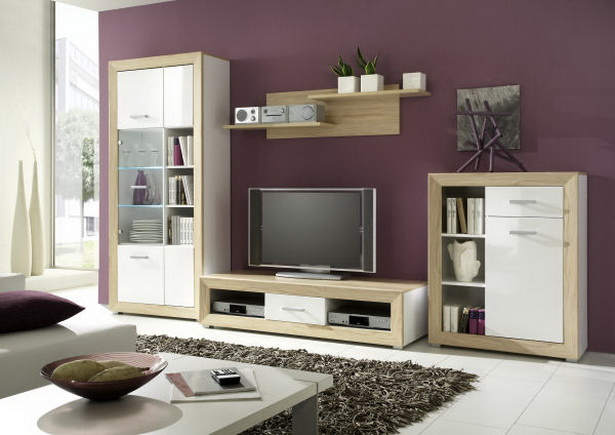 anbauwand wohnzimmer. Black Bedroom Furniture Sets. Home Design Ideas