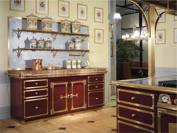 antike k chen. Black Bedroom Furniture Sets. Home Design Ideas