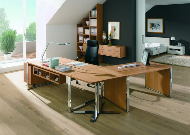 Arbeitszimmer einrichtungsideen for Raumgestaltung ideen buro
