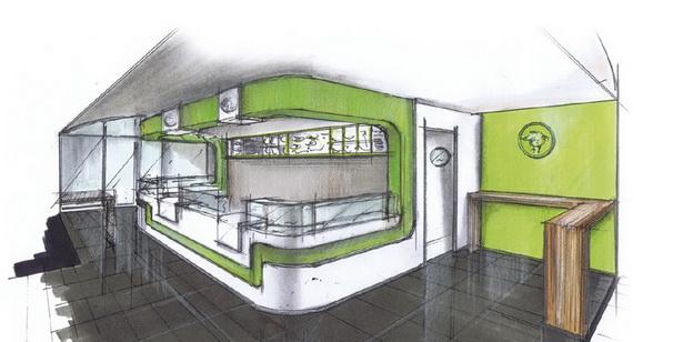 Asiatische raumgestaltung for Raumgestaltung cafe