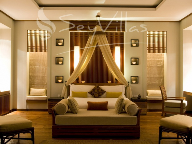 Asiatische schlafzimmer for Asiatische wanddeko