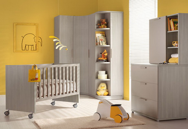 babyzimmer gelb. Black Bedroom Furniture Sets. Home Design Ideas