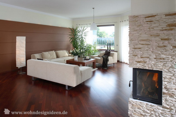 braun beige wohnzimmer. Black Bedroom Furniture Sets. Home Design Ideas