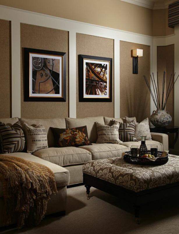 traditionelle funktionale farben für das wohnzimmer