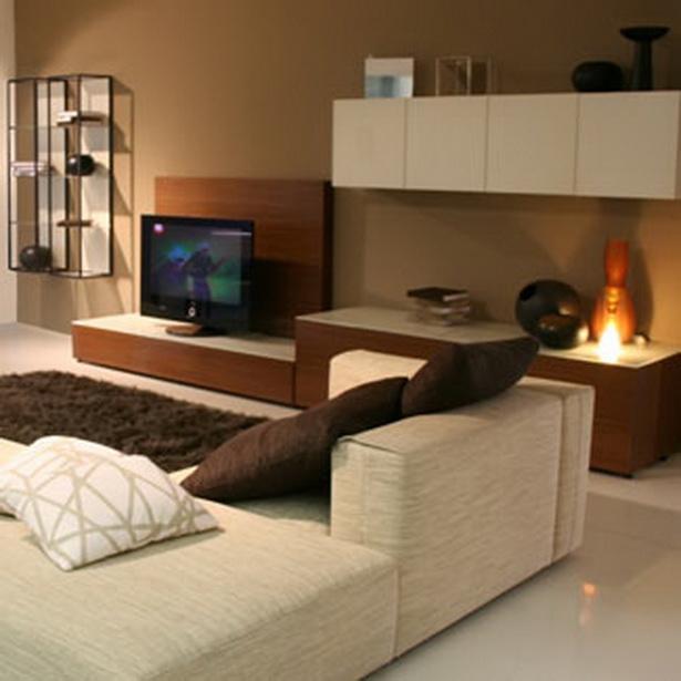 Braunes wohnzimmer - Schmales wohnzimmer ...