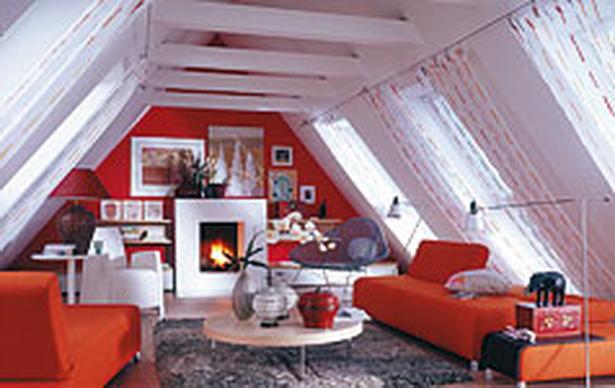 Dachgeschosswohnung einrichten - Dachwohnung gestalten ...