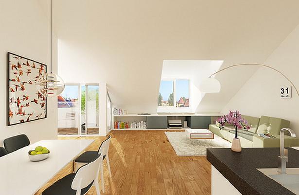 Dachgeschosswohnung einrichten for Neue wohnung einrichten