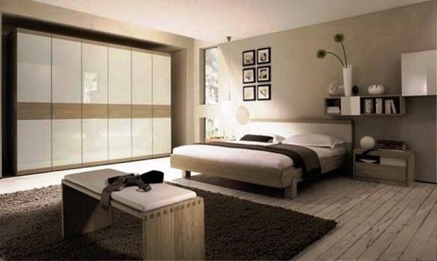 Schlafzimmer Gestalten Gemutlich : Schlafzimmer Dekoration Ideen  Modern Beige Bedroom Ideas