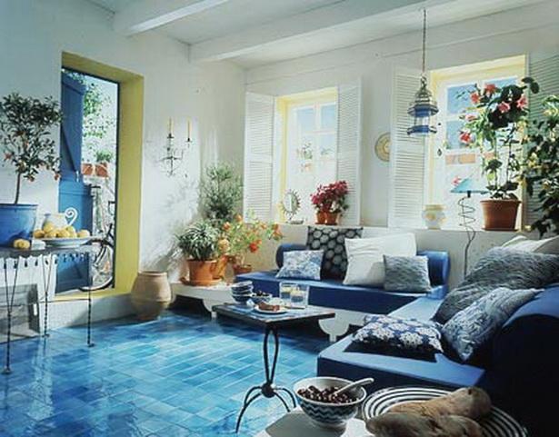Wohnzimmer: Die Schönsten Pflanzen Des Südens Wohnwelten Wohnzimmer  Mediterran