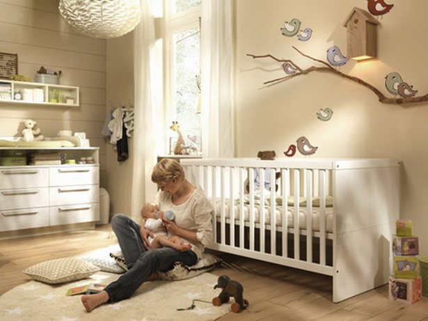 einrichten babyzimmer. Black Bedroom Furniture Sets. Home Design Ideas