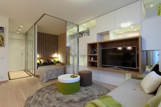 Einrichtungsideen 1 zimmer wohnung for Wohnung inneneinrichtung design