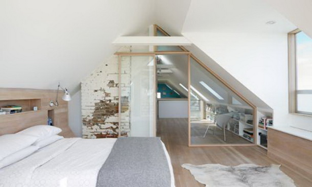 einrichtungsideen dachschrge - Schlafzimmer Einrichten Ideen Dachschrage
