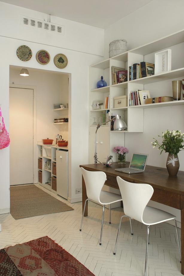 einrichtungsideen f r kleine r ume. Black Bedroom Furniture Sets. Home Design Ideas