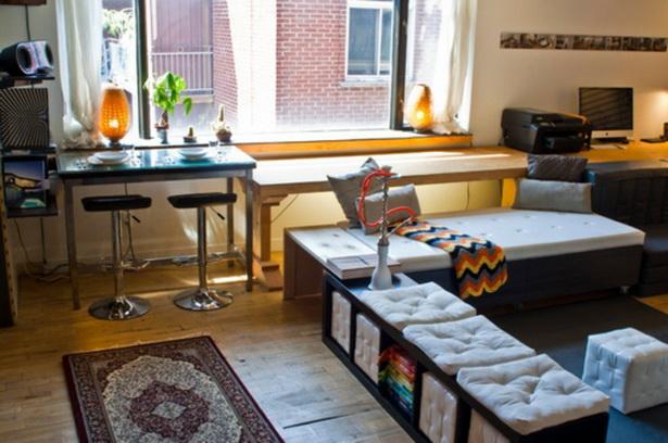 Einrichtungsideen f r kleine wohnungen for Kleines apartment einrichten