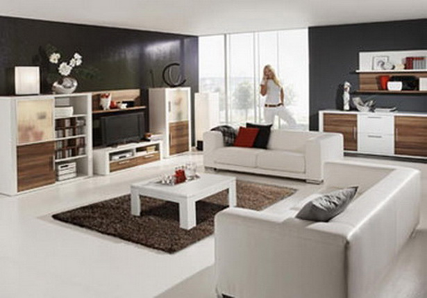 einrichtungsideen f r wohnzimmer. Black Bedroom Furniture Sets. Home Design Ideas