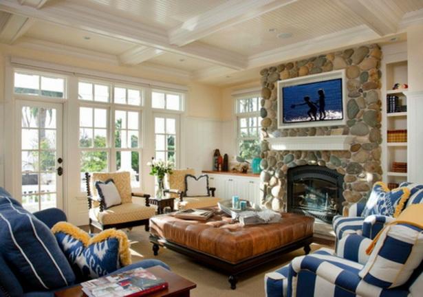 Einrichtungsideen wohnzimmer gem tlich - Fenster zumauern welcher stein ...
