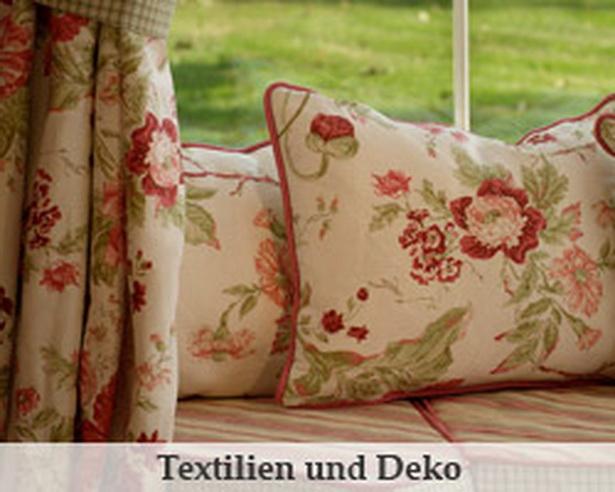 Englischer landhausstil deko - Englische gardinen ...
