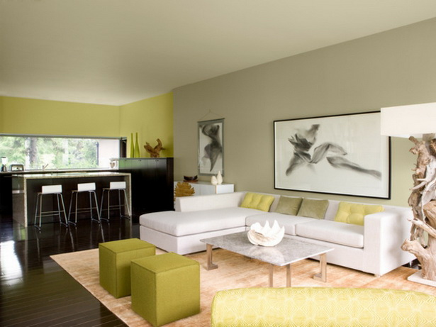 schöne wohnzimmer farbe:Coole Farben für Wohnzimmer – Elegante schöne Farbschemas zu Hause