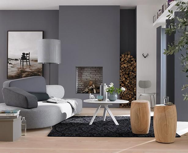 Farbideen f r wohnzimmer for Wandmuster streichen vorlagen