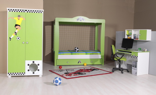 Fussball kinderzimmer for Zimmer deko fussball