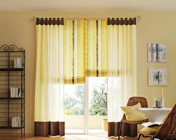 gardinen wohnzimmer modern. Black Bedroom Furniture Sets. Home Design Ideas