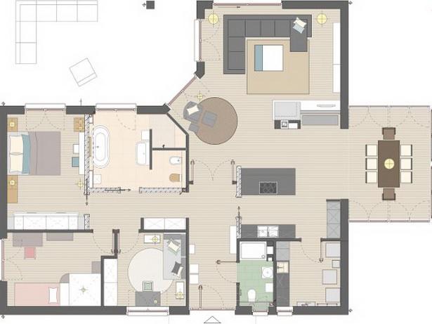 haus einrichtungsideen. Black Bedroom Furniture Sets. Home Design Ideas