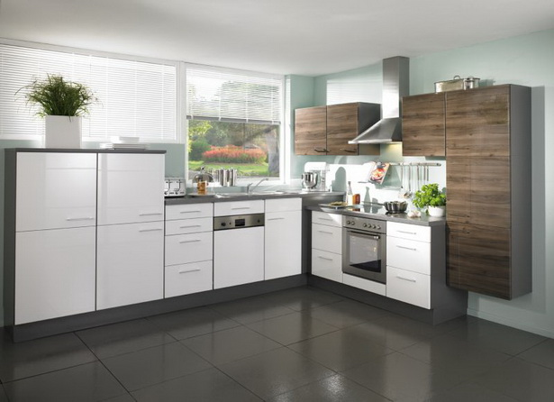 hochglanz k chen. Black Bedroom Furniture Sets. Home Design Ideas