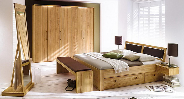 holz schlafzimmer. Black Bedroom Furniture Sets. Home Design Ideas