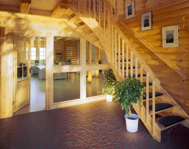 Holzhaus inneneinrichtung for Blockhaus innen modern