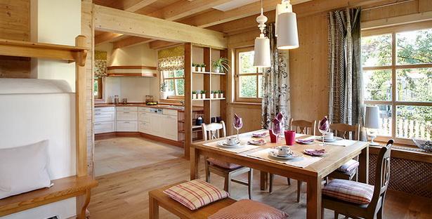 Holzhaus inneneinrichtung for Blockhaus modern einrichten