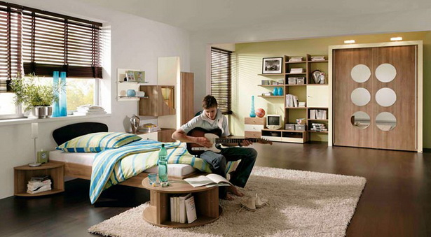 ideen f r ein jugendzimmer. Black Bedroom Furniture Sets. Home Design Ideas