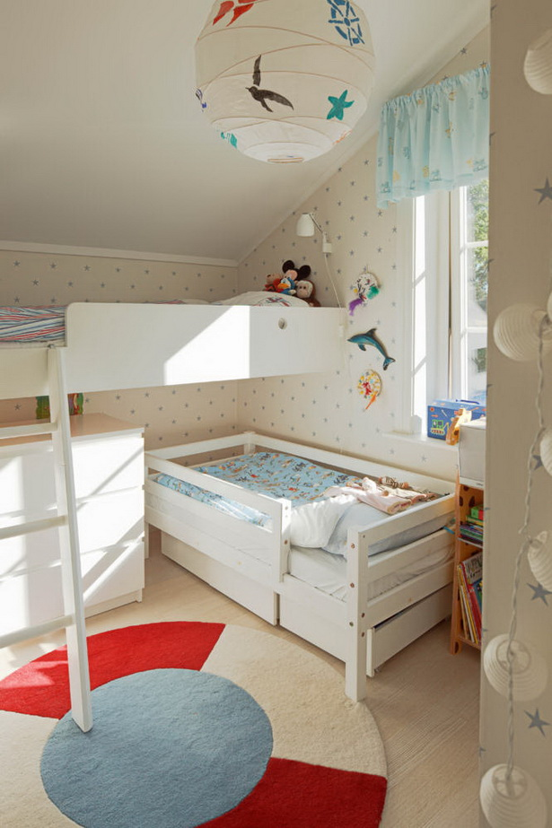 ideen f r kleine kinderzimmer. Black Bedroom Furniture Sets. Home Design Ideas