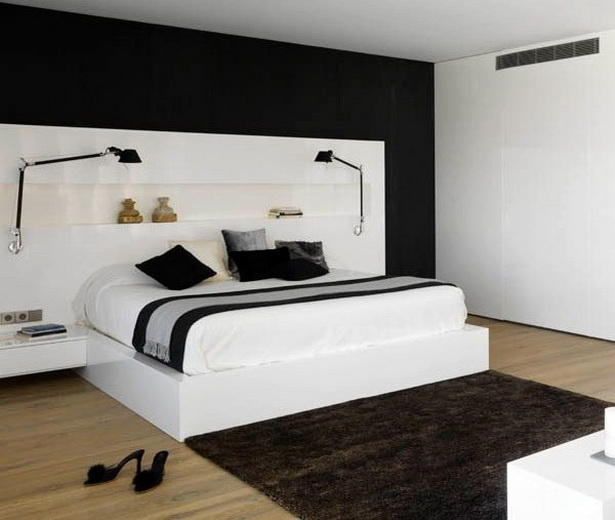ideen f r schlafzimmergestaltung. Black Bedroom Furniture Sets. Home Design Ideas