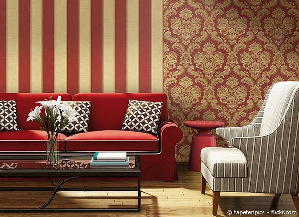 Inneneinrichtung Ideen Tapeten : Ideen f?r wohnzimmer tapeten