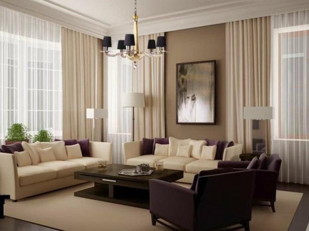 ideen gardinen wohnzimmer. Black Bedroom Furniture Sets. Home Design Ideas