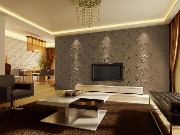 Tapeten Raumbilder Wohnzimmer : Wand Ideen Wohnzimmer tapeten design ideen schlafzimmer wand ang