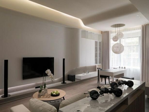 Wandfarben Ideen Wohnzimmer Braun #1