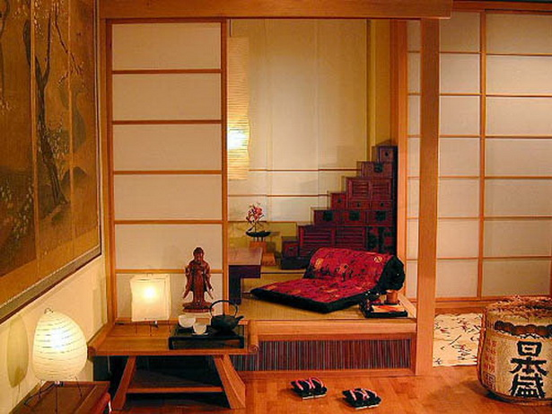 japanische schlafzimmer. Black Bedroom Furniture Sets. Home Design Ideas