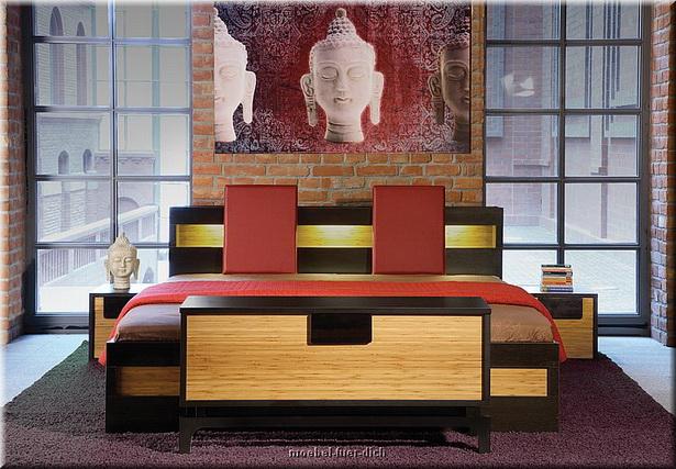 japanisches schlafzimmer inspiration. Black Bedroom Furniture Sets. Home Design Ideas