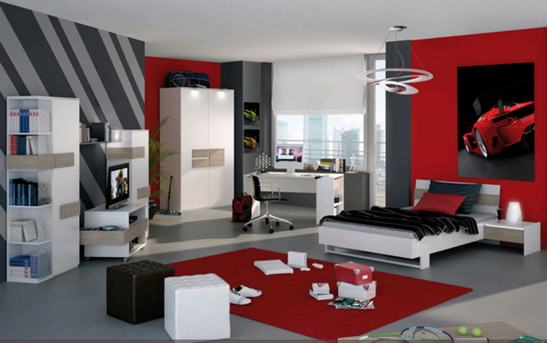 jugendzimmer farblich gestalten. Black Bedroom Furniture Sets. Home Design Ideas