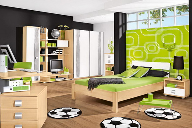 jugendzimmer f r jungen. Black Bedroom Furniture Sets. Home Design Ideas