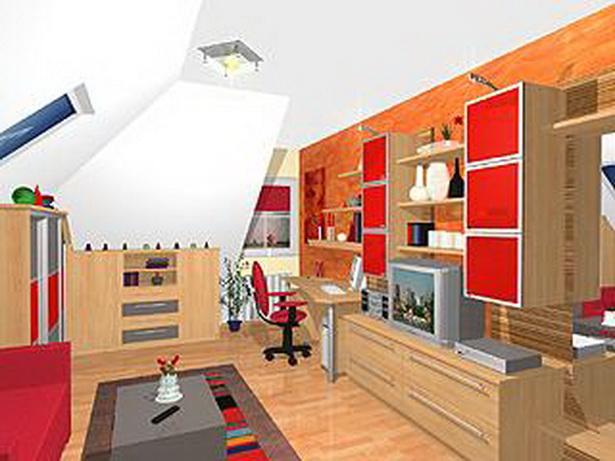 Jugendzimmer mit dachschr ge for Welle jugendzimmer 5