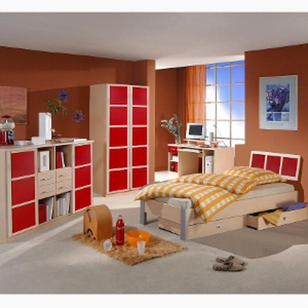 jugendzimmer rot. Black Bedroom Furniture Sets. Home Design Ideas
