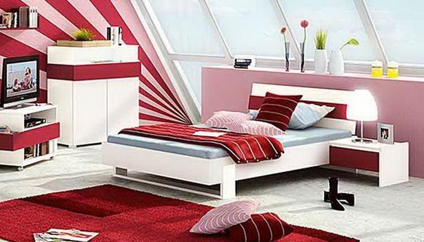 Jugendzimmer rot alles ber wohndesign und m belideen for Jugendzimmer rot