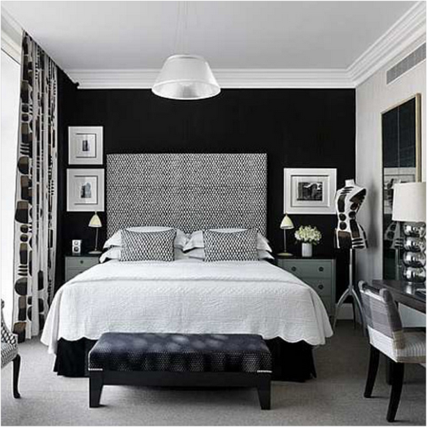 jugendzimmer schwarz wei. Black Bedroom Furniture Sets. Home Design Ideas