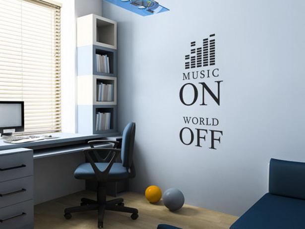 wandgestaltung jugendzimmer beispiele. Black Bedroom Furniture Sets. Home Design Ideas