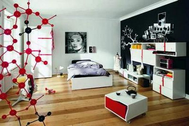 jugendzimmer w nde gestalten. Black Bedroom Furniture Sets. Home Design Ideas